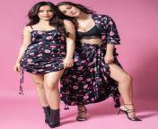 Neha Sharma and Aisha Sharma from siddharth sharma in underwear